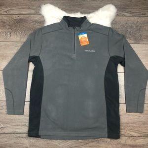 Columbia Men's Gray Klamath Range Fleece Jacket